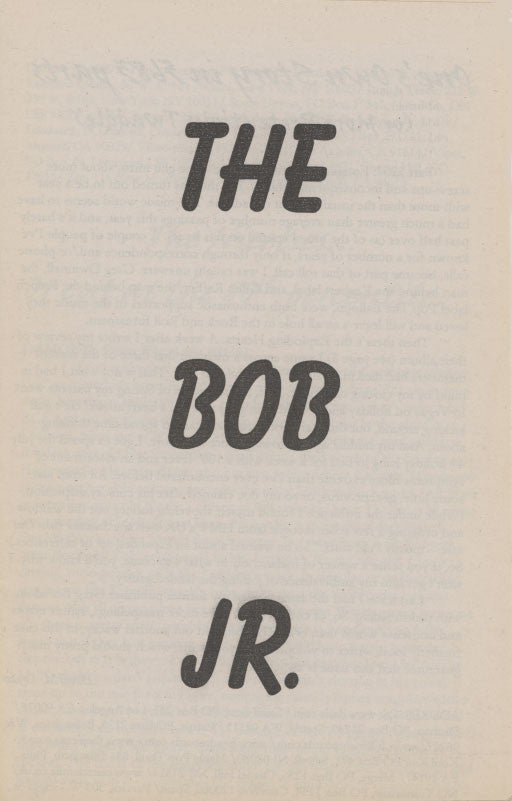 Bob Jr. - Vol 2, No. 4