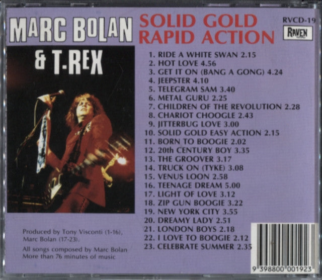 Marc Bolan & T.Rex – Solid Gold Rapid Action