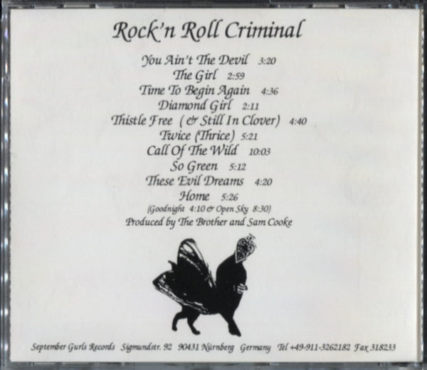 Brother Love – Rock'n Roll Criminal
