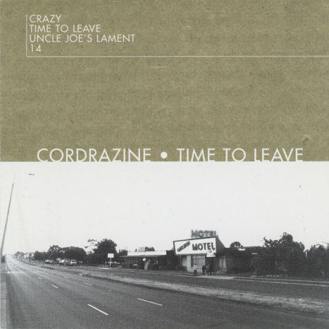 Cordrazine – Time To Leave