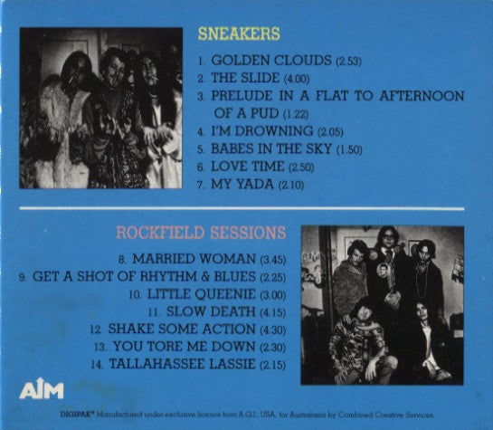 Flamin' Groovies – Sneakers & Rockfield Sessions