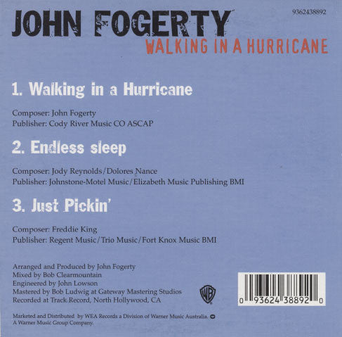 Fogerty, John – Walking In A Hurricane