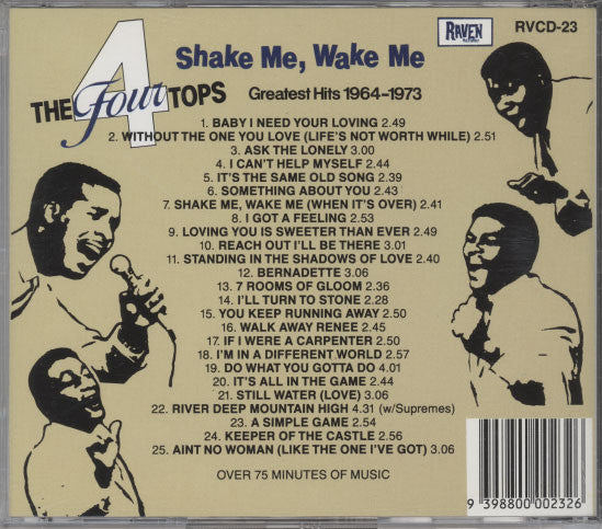 Four Tops – Shake Me, Wake Me