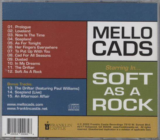 Mello Cads ‎– Soft As A Rock