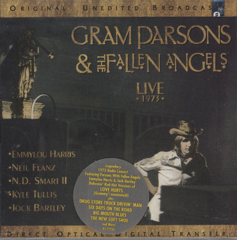 Parsons, Gram & The Fallen Angels – Live 1973