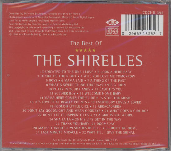 Shirelles – Best Of