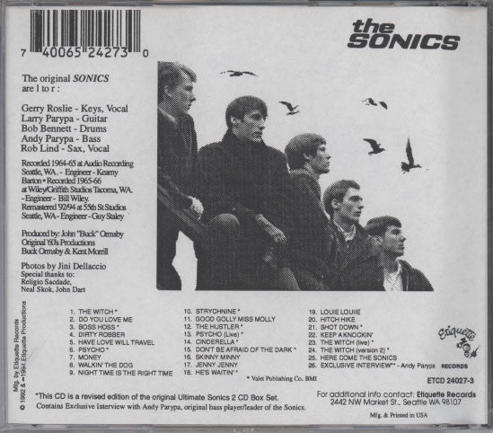 Sonics – Here Are The Ultimate Sonics