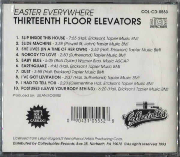 13th Floor Elevators   Easter Everywhere 13th Floor Elevators   Easter  Everywhere