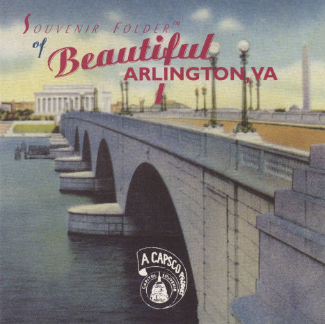 Tsunami – Souvenir Folder Of Beautiful Arlington, VA