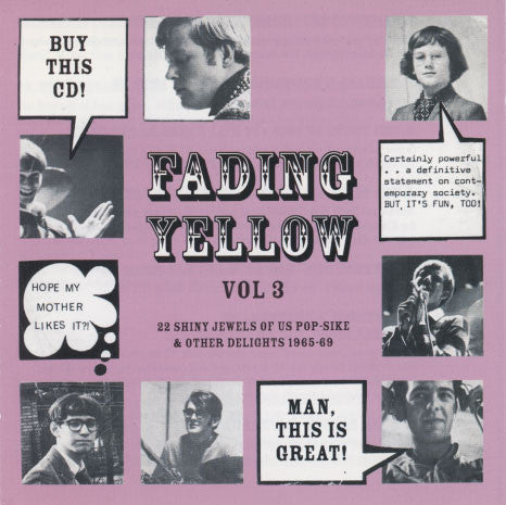Various Artists – Fading Yellow Vol 3