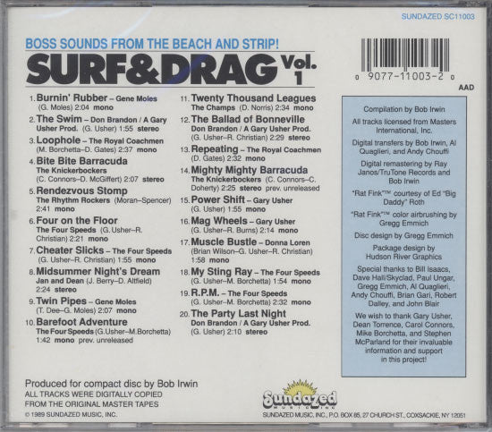 Various Artists  – Surf & Drag Vol. 1