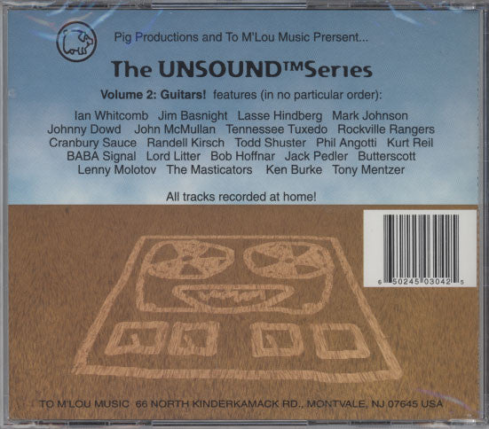 Various Artists  – Unsound Volume 2: Guitars!