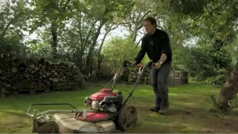 monty don bbc gardeners world sowing wildflower meadow in an orchard episode 28