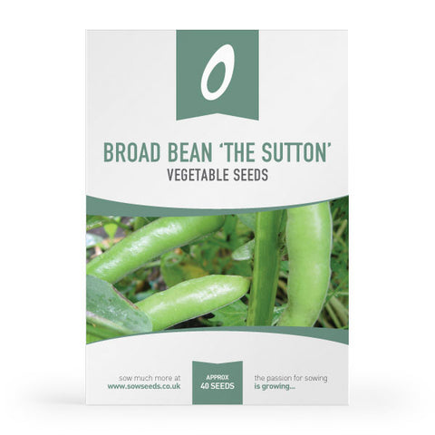 broad bean the sutton vegetable seeds