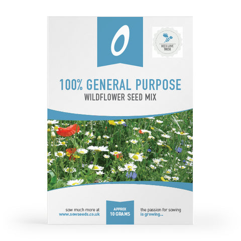 100% General Purpose Wildflower Meadow Seed Mix