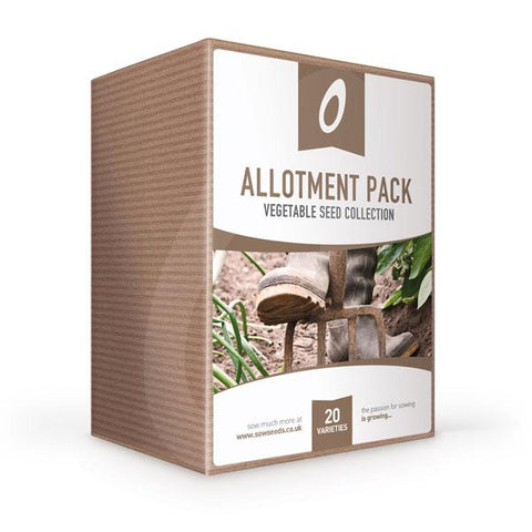 allotment vegetable seed collection box gardening gift