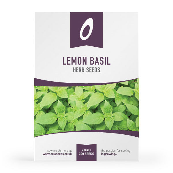 Lemon Basil Herb Seeds