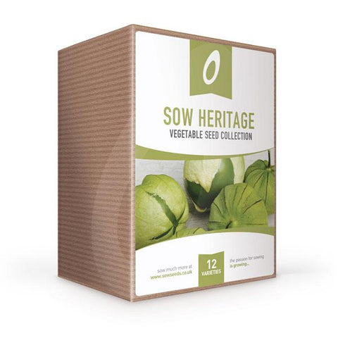 Sow Heritage Vegetable Seed Collection Box
