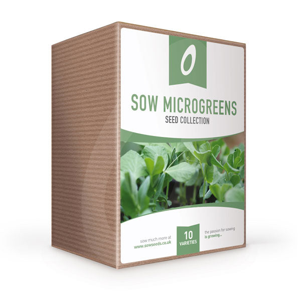 sow microgreen seed collection box gardening gift