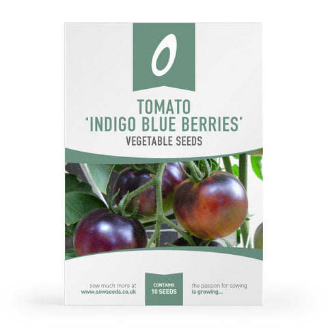 Tomato 'Indigo Blue Berries' Seeds