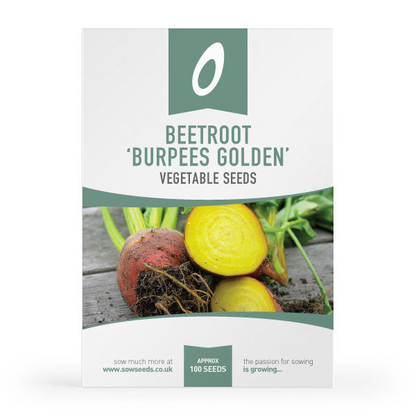 Beetroot Burpees Golden Seed Packet