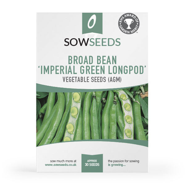 broad bean imperial green longpod agm vegetable seeds