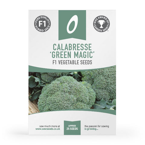 Calabrese Green Magic F1 Seeds (AGM)