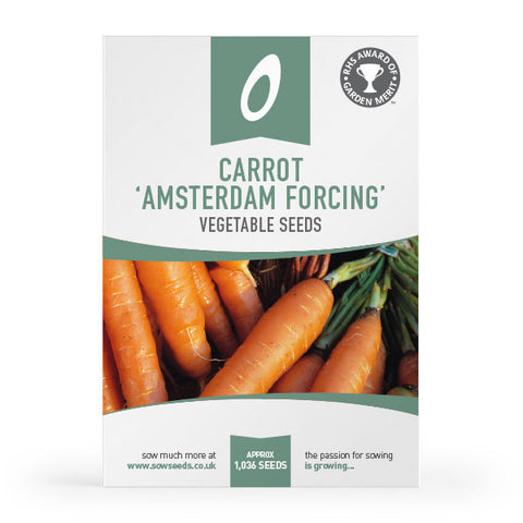 Carrot Amsterdam Forcing Seeds (AGM)