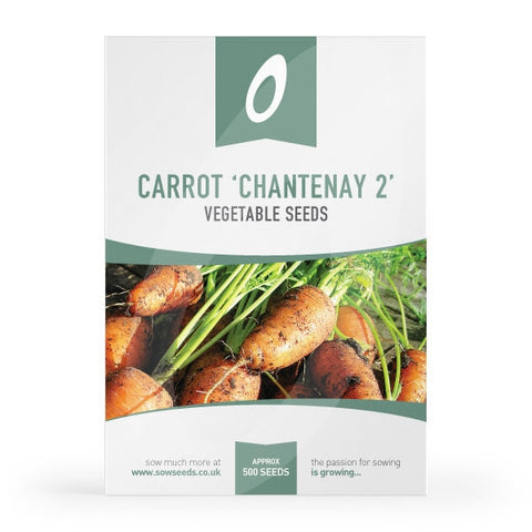 Carrot Chantenay 2 Red Cored Seeds