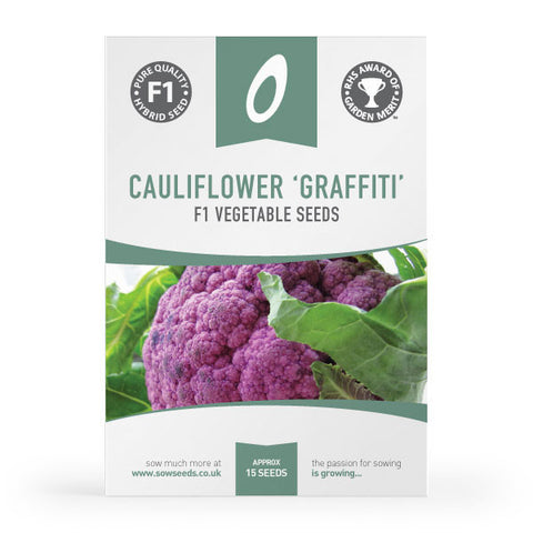 Cauliflower Graffiti F1 Seeds (AGM)