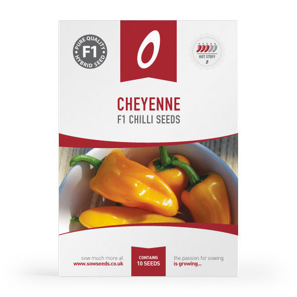 Cheyenne F1 Chilli Seeds
