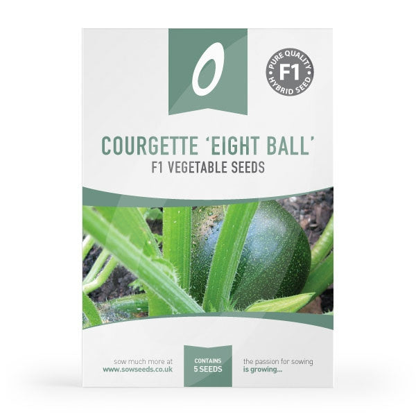 Courgette Eight Ball Seeds
