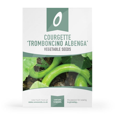 Courgette Tromboncino Albenga Seeds