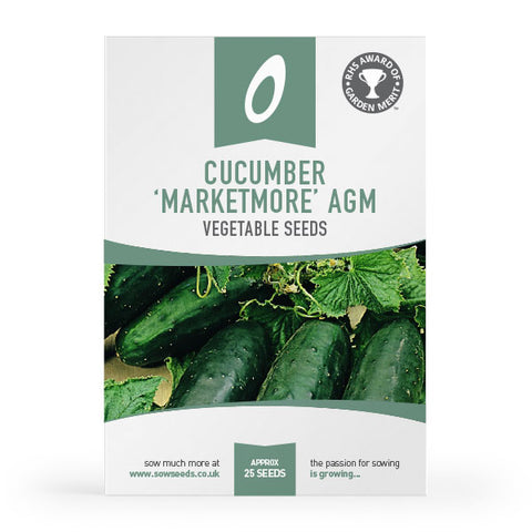 Cucumber Marketmore Seeds (AGM)