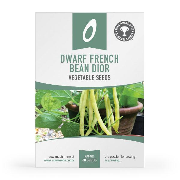 Dwarf French Bean Dior vegetable seeds