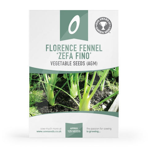 Florence Fennel Zefa Fino Seeds (AGM)