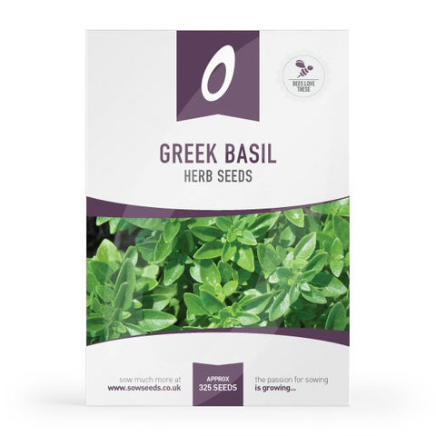 Greek Basil Herb Seeds