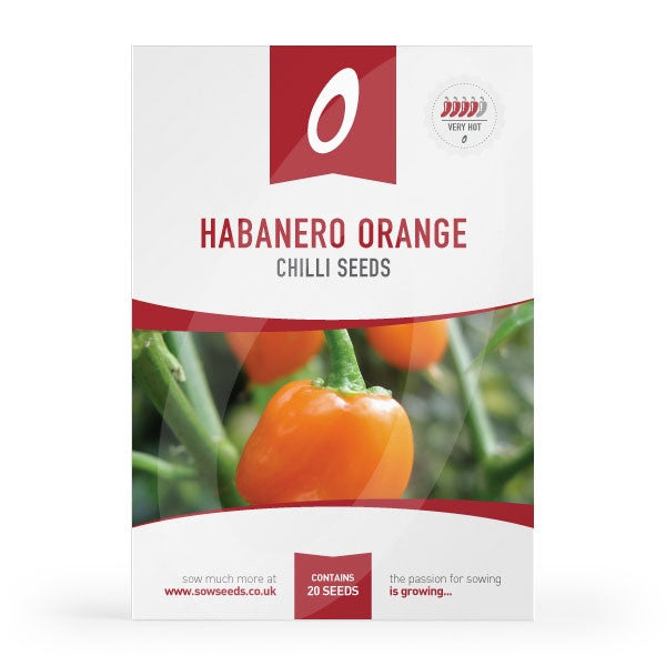 Habanero Orange Chilli Seeds
