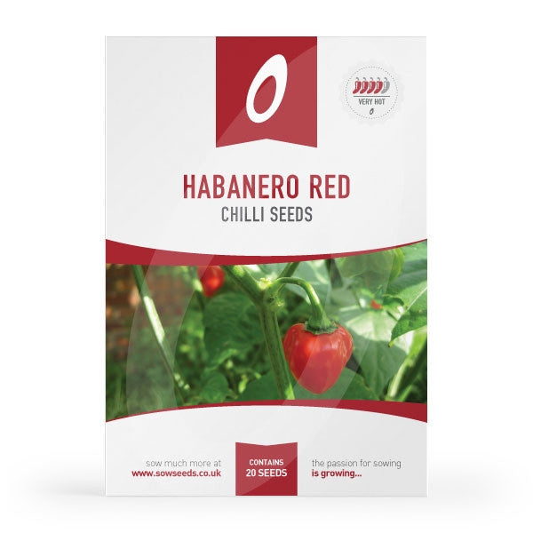 Habanero Red Chilli Seeds