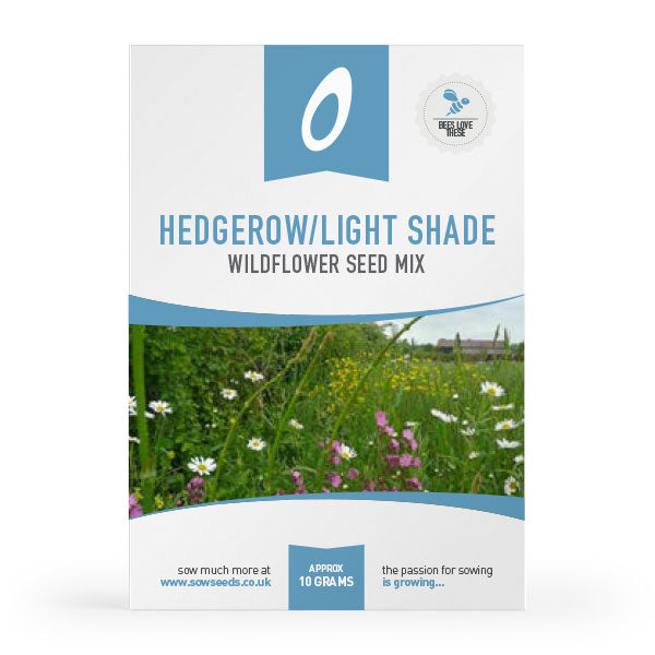 hedgerow light shade wildflower meadow seed mix