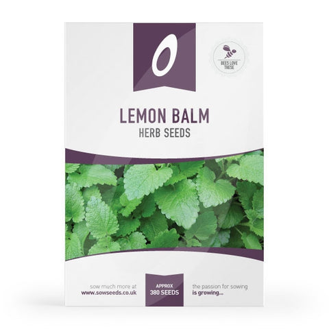 Lemon Balm Herb Seeds