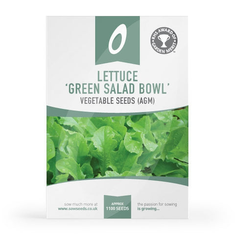 Lettuce Green Salad Bowl Seeds