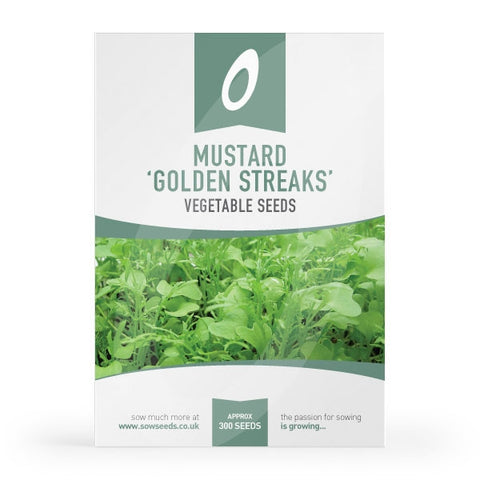 Mustard Golden Streaks Seeds