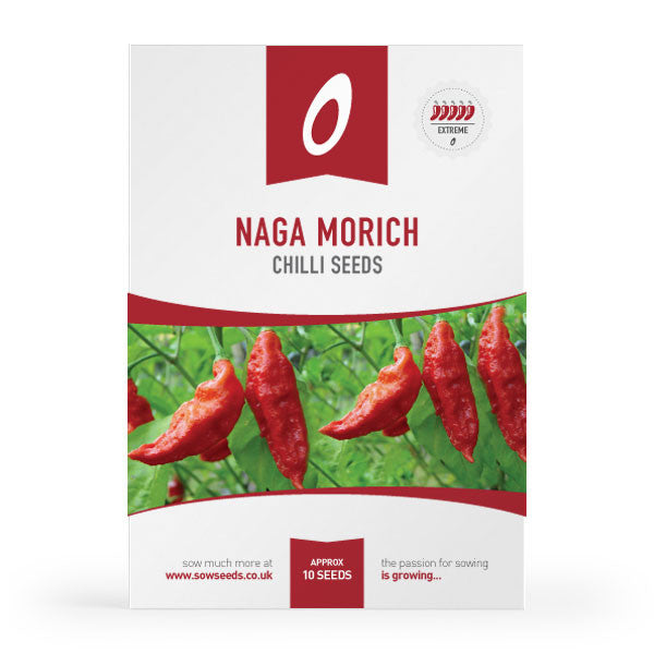 Naga Morich Chilli Pepper Seeds