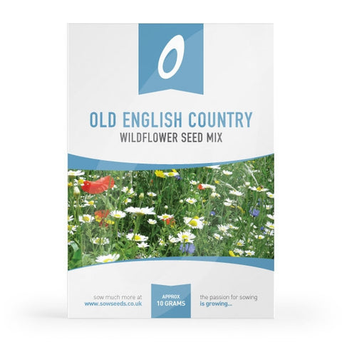 Old English Country Wildflower Meadow Seed Mix