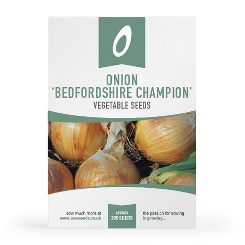 onion bedfordshire champion vegetable seeds