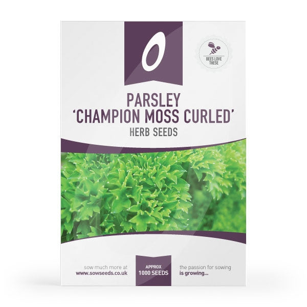 Parsley Champion Moss Curled Herb Seeds
