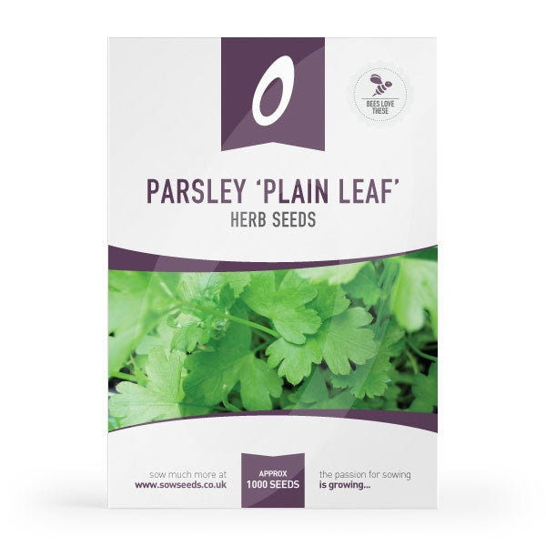 how to grow parsley from seed uk