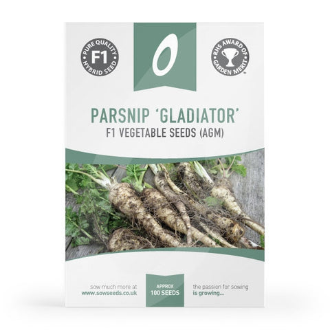 Parsnip Gladiator Seeds