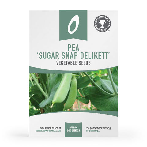 Pea Sugar Snap Delikett Seeds AGM